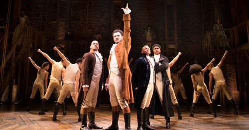 Hamilton West End Musical production images released