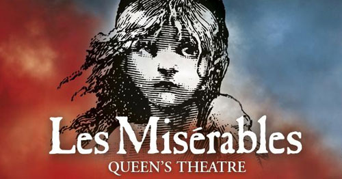 Book tickets to see Les Miserables