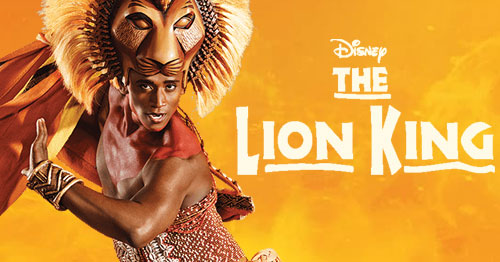 Book tickets to see The Lion King
