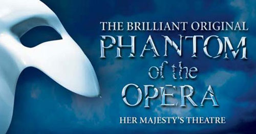 Book tickets to see Phantom of the Opera