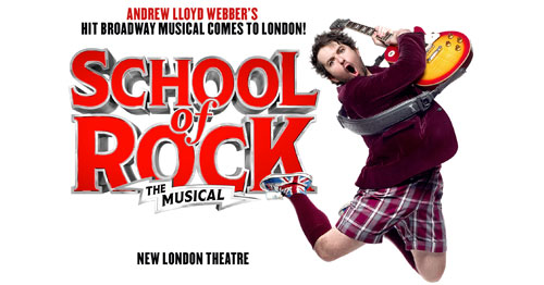 Book tickets to see School of Rock The Musical